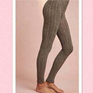 NWT Anthropologie Panta Cabled Legging